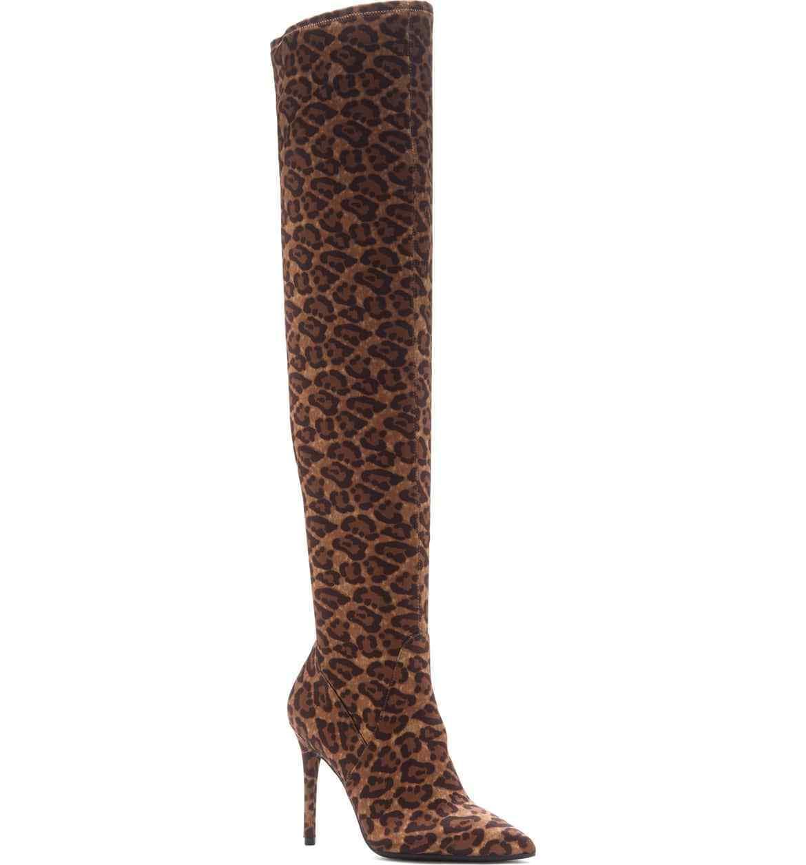 Jessica Simpson Mujer Laken bota Natural Leopardo