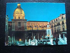 Italia-Tarjeta-Postal-Palermo-La-Fuente-De-Plaza-Sala-Audiencias-cy25