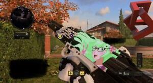 Call Of Duty Black Ops Iiii 4 Dlc Gun Code (anime Girl Accès Refusé Camo) Pc-afficher Le Titre D'origine Produits Vente Chaude