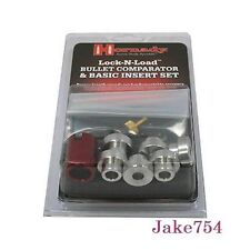 Hornady 6 Piece Lock N Load Bullet Comparator Insert Basic Set Steel # B234 New