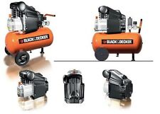 Black&Decker Compressore aria coassiale 50lt litri 2Hp lubrificato BD205/50