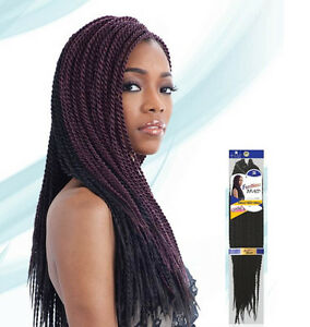 Image Is Loading Freetress Braid Single Twist Small Crochet Braiding Hair