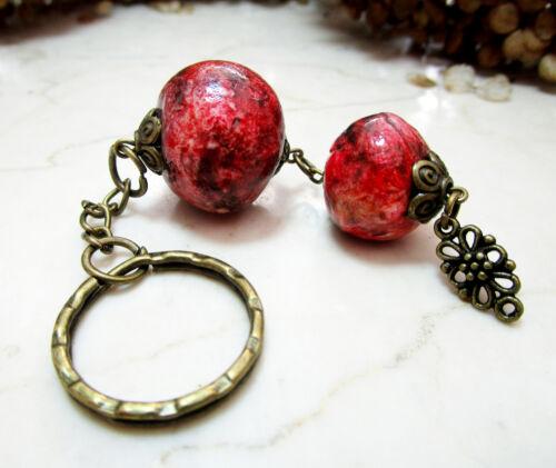 Schlüsselanhänger Schlüsselring Accessoire Taschenanhänger Bronze SIlber Dangle