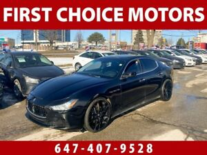 2014 Maserati Ghibli S Q4 ~AUTOMATIC, LOADED, FULLY CERTIFIED~