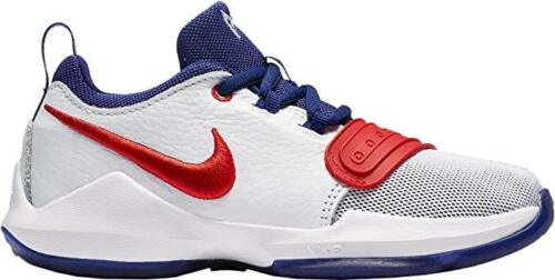 YOUTH SIZE ATHLETIC SHOES//BASKETBALL NIKE PG 1 881938 164 PS