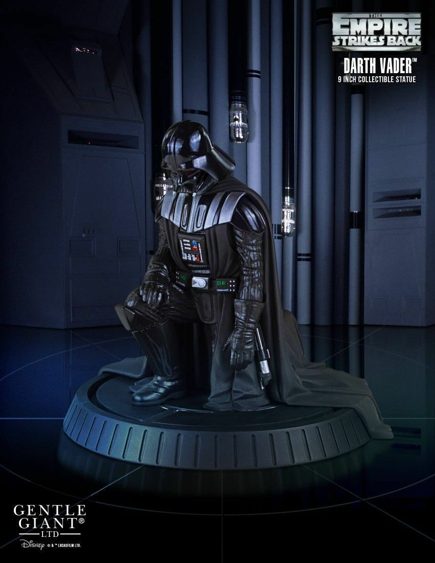 Star Wars Gentle Giant Statues 1 8 Scale Darth Vader Collectors Gallery Statue