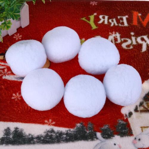 Artificial Xmas White Snowball Throwing Dodge Game Kids Christmas Tree Decor Toy