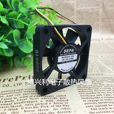 1pc SEPA 5010 MFB50A-12A fan 50*50*10mm12V 0.09A 3pin