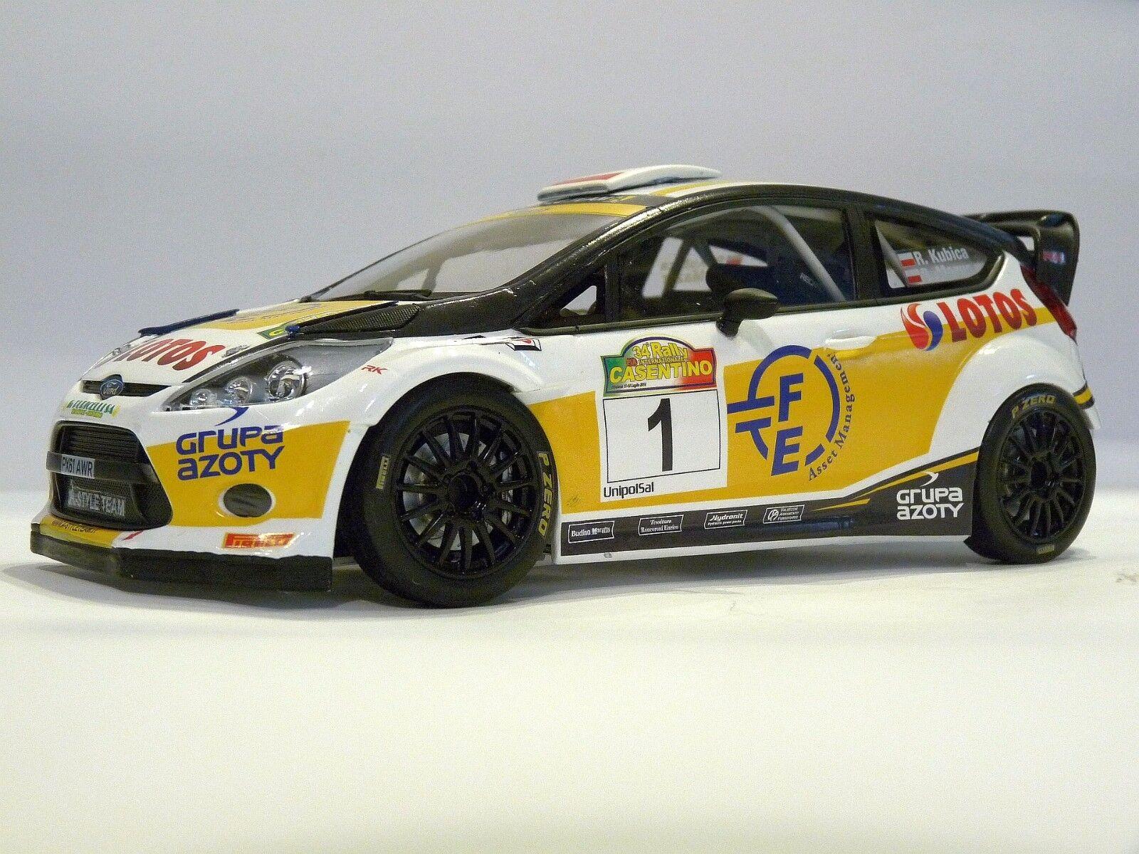 Todo en alta calidad y bajo precio. Escala 1 18 Robert Kubica Rally Casentino Casentino Casentino 2014 código 3 Modelo Ford Fiesta WRC  grandes ofertas