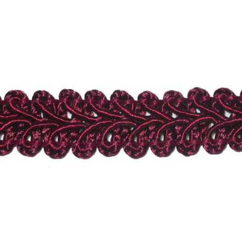 """1//2/"""" 12mm français gimp braid x 3yds diverses couleurs"""