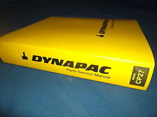 DYNAPAC CP27 COMPACTOR ROLLER PARTS MANUAL BOOK