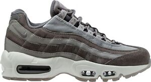 099c302ede Nike Air Max 95 LX Luxe Gunsmoke Grey Suede Leather Wmns SZ 8 ...