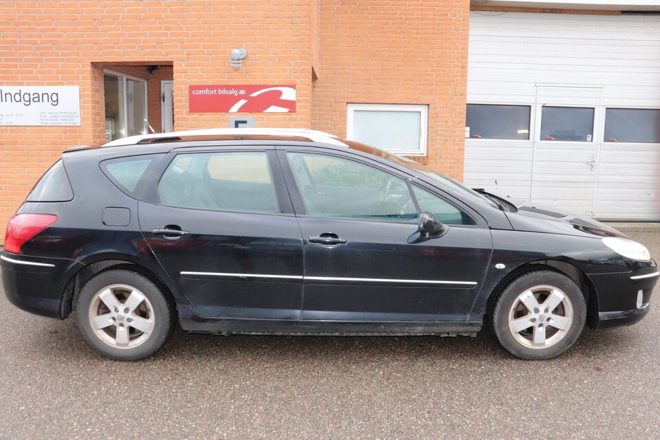 Peugeot 407 1,6 HDi ST Sport SW Diesel modelår 2007 km 239000