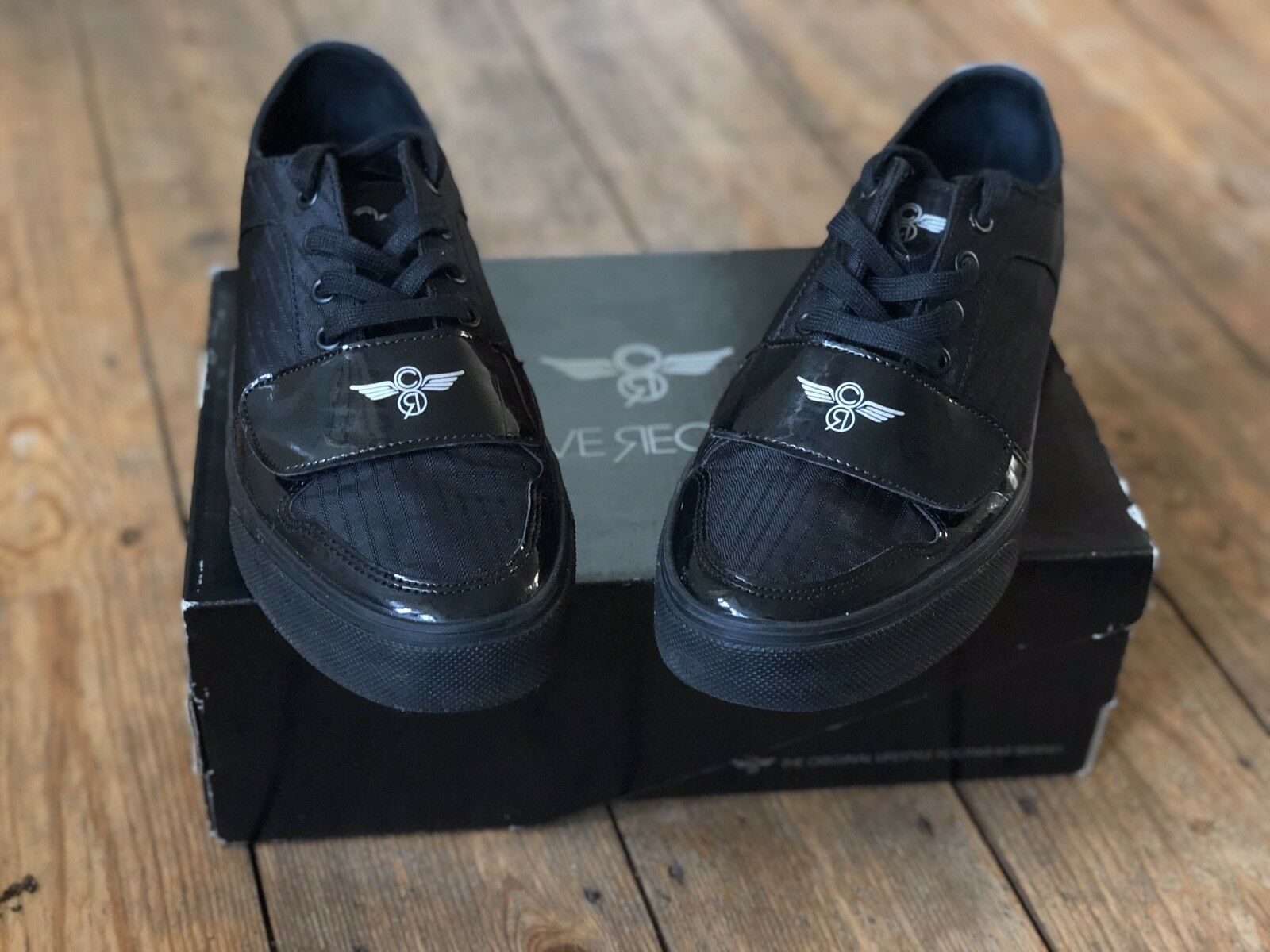 Creative Recreations Black UK Size 8. Excellent Condition. With Box.