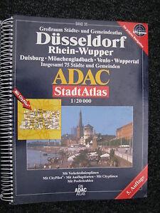 Book-ADAC-Stadt-Atlas-Dusseldorf-Rhein-Wupper-5-Auflage