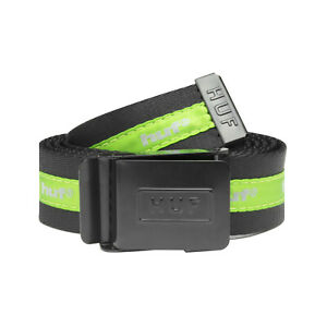 Huf-Worldwide-Skateboard-Belt-Guertel-Easy-Scout-Black-Green
