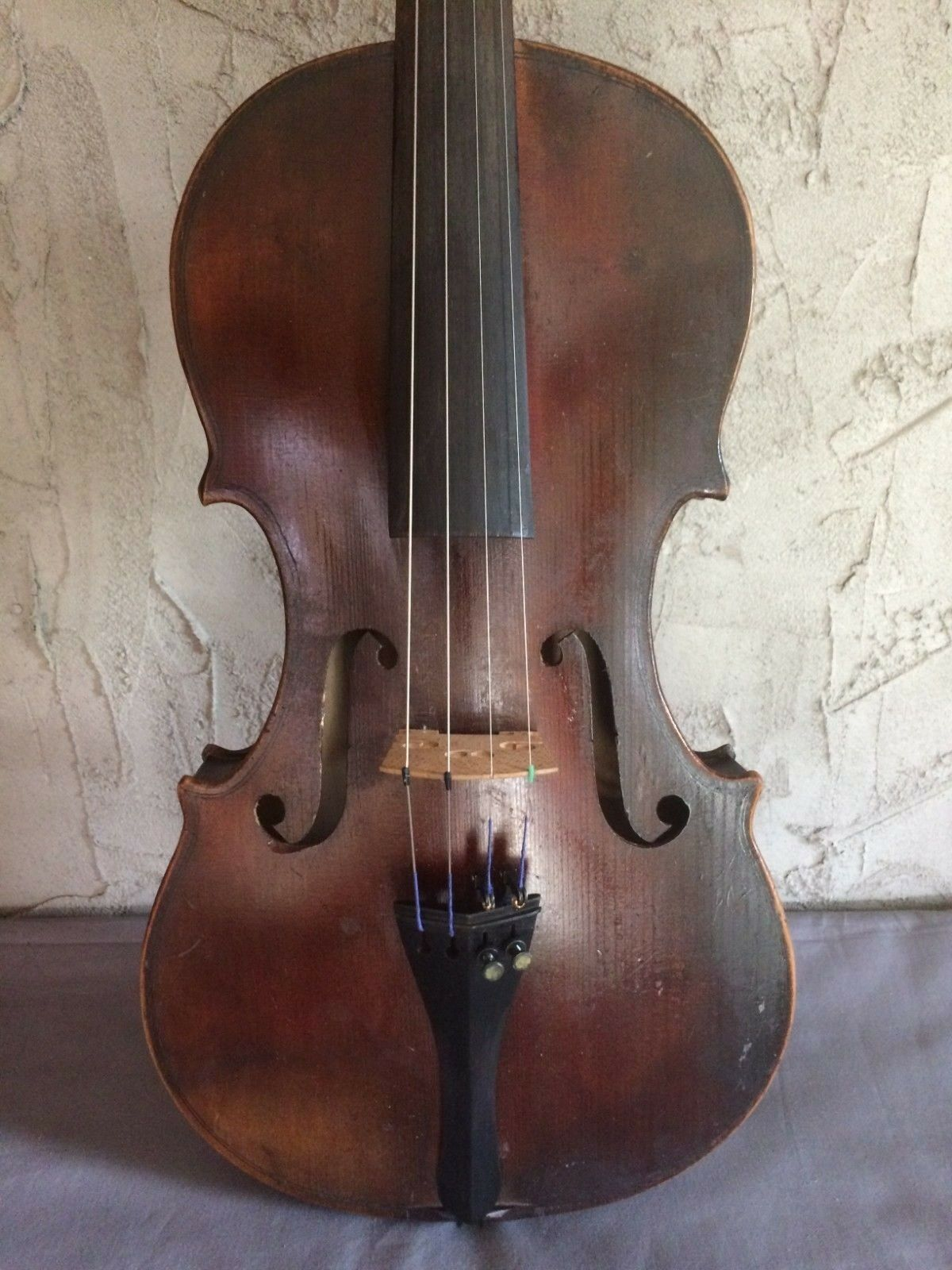 Antique Full-Größe 4 4 West Germany Violin Nice Tone Beautiful