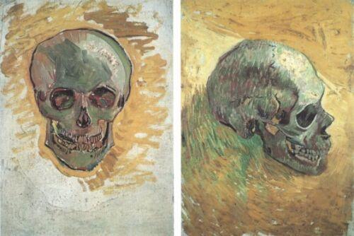 Skulls Vincent Van Gogh VG417 Reproduction Art Print A4 A3 A2 A1