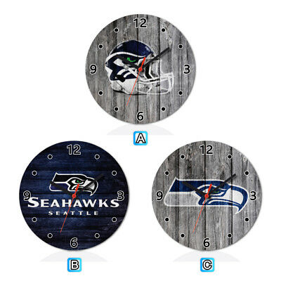 Seattle Seahawks Football Wall Clock