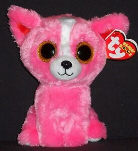 TY BEANIE BOOS - PASHUN the PINK DOG - GIFT SHOW EXCLUSIVE - MINT with MINT TAG