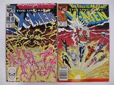 *UNCANNY X-MEN #226-250 25 Books  Guide $224 Free shipping!