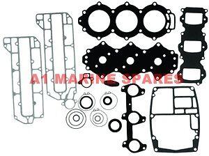 A1 60hp-70hp 3cyl Yamaha Gasket Kit With seals 6H3-WOOO1-00