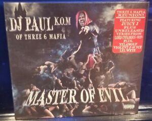 DJ Paul - Master of Evil CD SEALED Three Six Mafia 3 6 insane clown posse icp