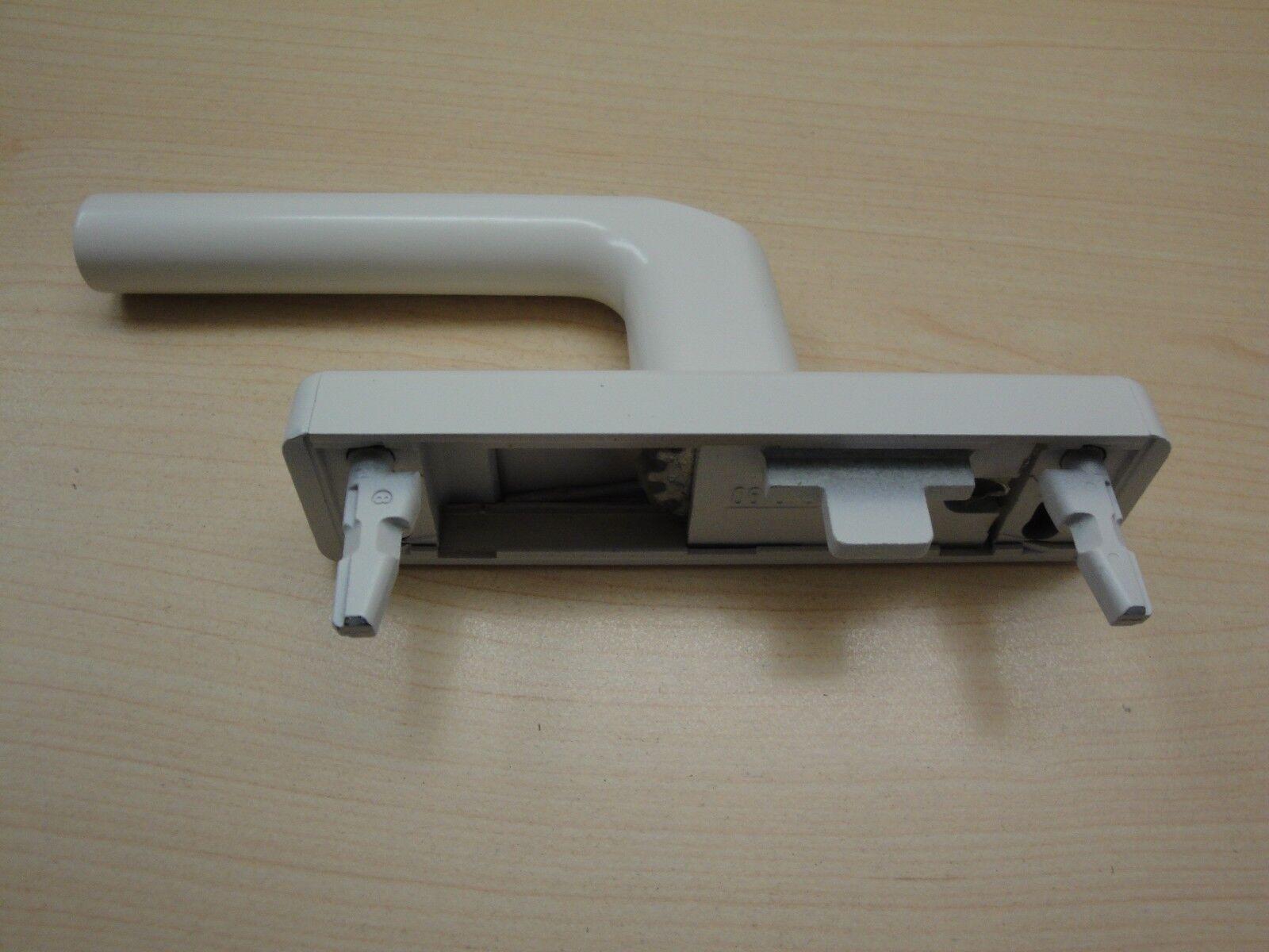 Fenstergriff Getriebe Wicona GEZE Roto RAL 9016 weiß  mit Zubehör 061675