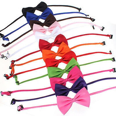 New Popular Cute Dog Puppy Cat Kitten Pet Toy Kid Bow Tie Necktie Collar Clothes