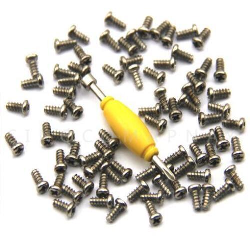 50x Screws /& 1 Spanner Tool For 3.75/'/' GI Joe Cobra Action Force Leg /& Back Toys