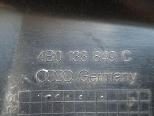 Abdeckung Luftfilterkasten Audi A6 4B 3.0 V6 Verkleidung Cover 4B0133849C
