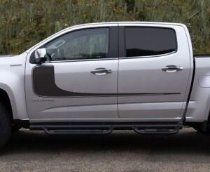 Chevy Colorado Crew Cab >> Details About Hockey Stripe 3m Vinyl Sticker Decal Graphic Chevy Colorado Crew Cab All Years