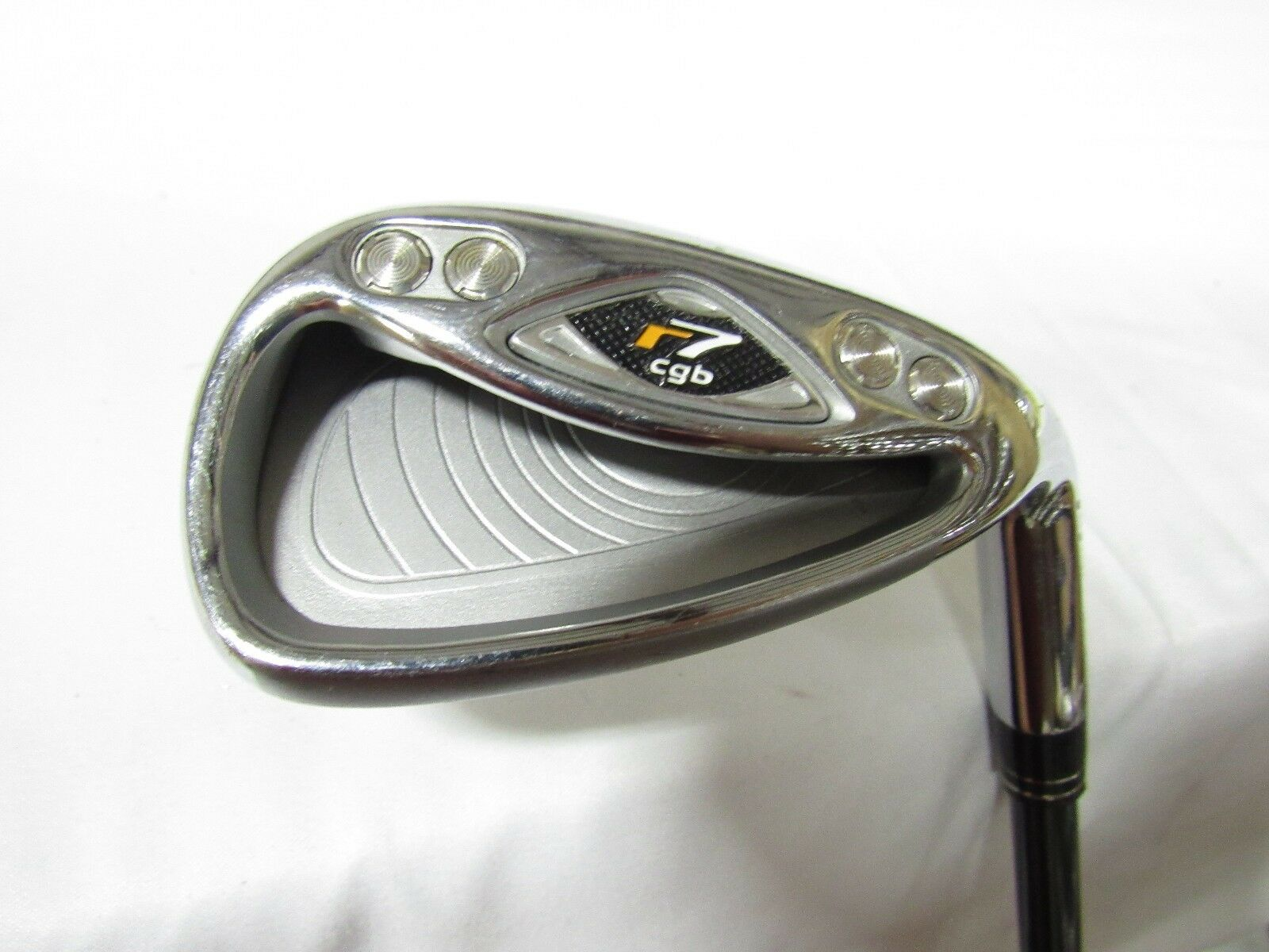 Used RH TaylorMade r7 CGB Sand S Wedge r7-55 Graphite Regular Flex R-Flex