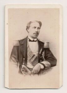 Vintage-CDV-King-Luis-I-of-Portugal-E-Neurdein-Photo