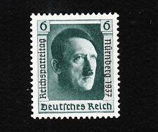 Germany Hitler Birthday SINGLE Stamp Overprinted Nuremburg 1937 Michel 650 MNH E