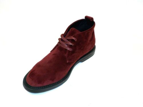 Red b2 INC International Concepts Mens Salem Leather Closed Toe Ankle