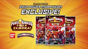 Pack de figurines super Samouraï Rangers exclusif à Power Morphicon 2012