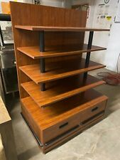 New Listingucd Wood 415 Brown Product Retail Store Display Candy Fixture Shelf Withdrawers