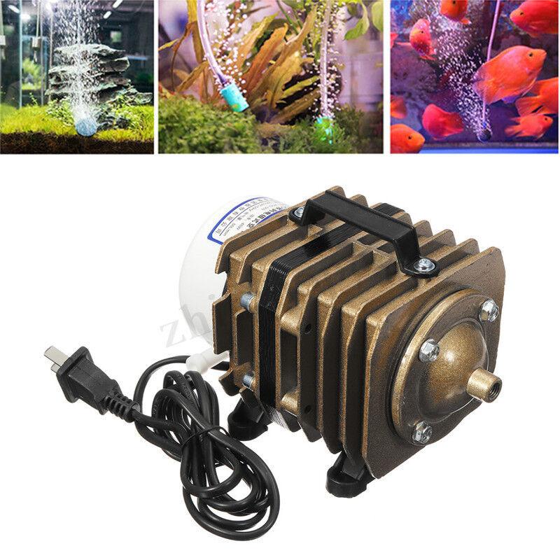 a buon mercato 220V 45W Oxygen Air Pump Pump Pump Electric Magnetic Aquarium Commercial Pond Fish  clienti prima reputazione prima
