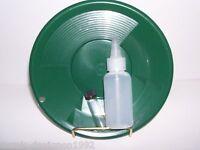 International Se 10 Panning Gold Pan - Green, Sniffer, Vial