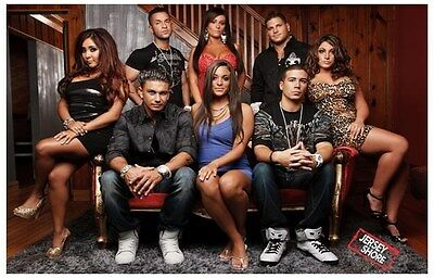 JERSEY SHORE Poster - Cast Full Size 24x36 ~ Snooki Jwoww The Situation Pauly D