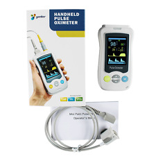 "CE2.4""Color LCD Handheld Pulse Oximeter Kids Pediatrics Child Infant Probe SpO2"