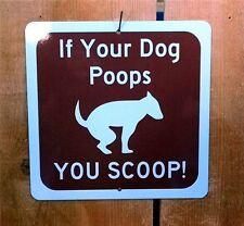 Dog Poop Recreation Symbol Highway Route Sign