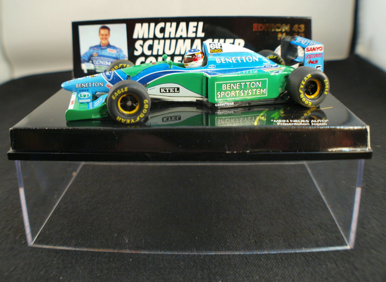 Minichamps ed.43 Nr.10 ◊ M.Schumacher Benetton Ford B193B ◊ 1 43 ◊ Boxed   in