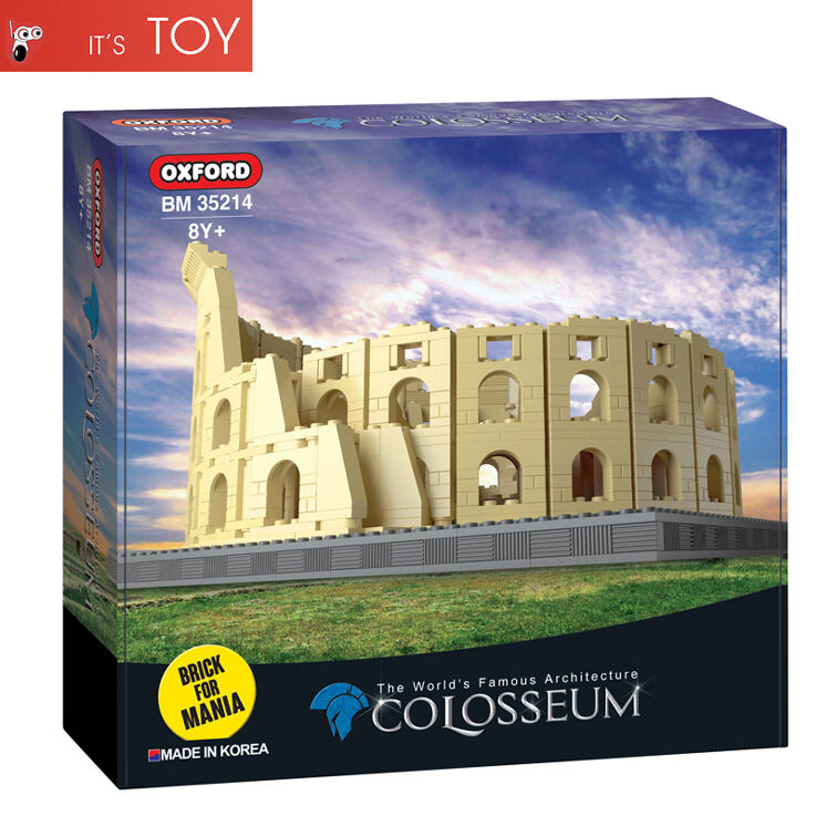 Oxford Block Colosseum BM35214 ladrillo para Mania coreano edificio Arena Juguete 1500 un.
