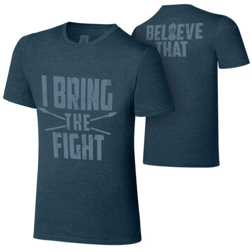 """Official WWE Roman Reigns /""""I Bring The Fight/"""" Special Edition Authentic T-Shirt"""
