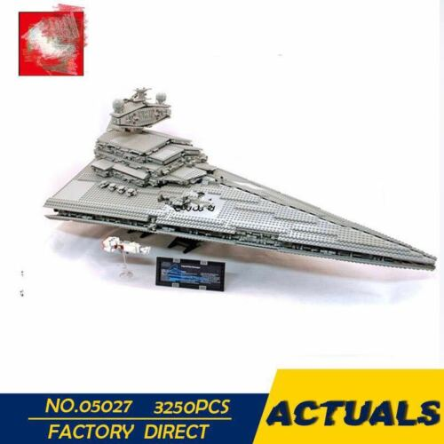 Building Toy 05027 3250Pcs Star Series The  Destroyer Model  Kit Blocks