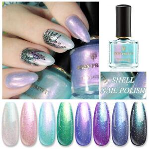 BORN-PRETTY-Chameleon-Nail-Polish-Shell-Glimmer-Glitter-Nail-Art-Varnish-Tips