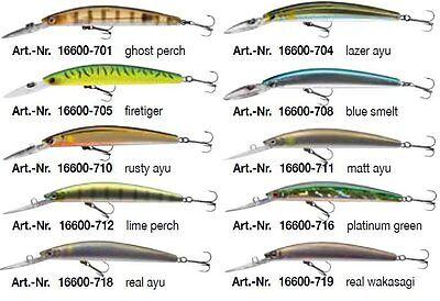 20 Stk // Menge Fischen Köder Blank Wobbler Unlackiert Harte 110mm Frischwasser