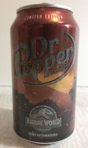 Jurassic world dr pepper